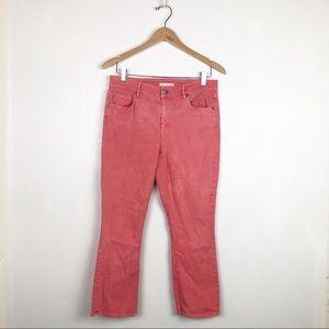 Ann Taylor Loft curvy kick crop jeans